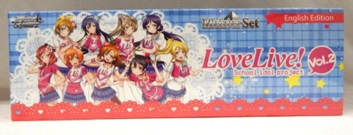 Bushiroad Weiss Schwarz MEISTER SET: LOVE LIVE! VOL. 2 English Edition NEW