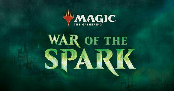 Factory Sealed English Magic the Gathering War of the Spark Prerelease Pack Kit