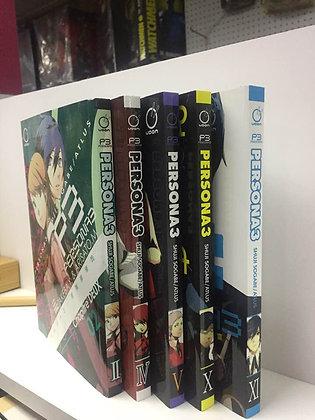 Persona 3 Vol 2,4,5,10,11   (5 English Manga)