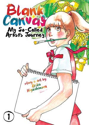 Blank Canvas: My So-Called Artist's Journey (Kakukaku Shikajika) Vol. 1 Paperbac