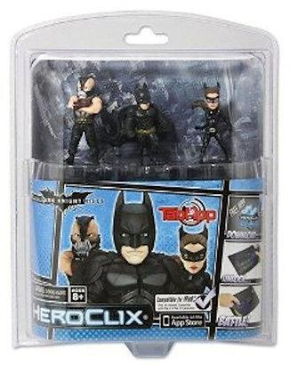 DC Heroclix Dark Night Rises TabApp 3-Pack