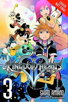 Kingdom Hearts II Vol. 1,2,3,4 (Manga)