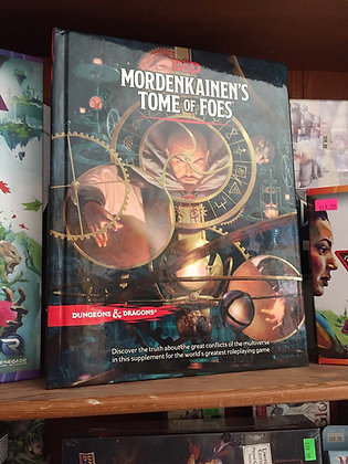D&D MORDENKAINEN'S TOME OF FOES (Dungeons & Dragons) Hardcover – Illustrated