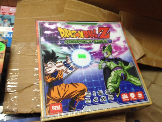 Dragon Ball Z Dice Game