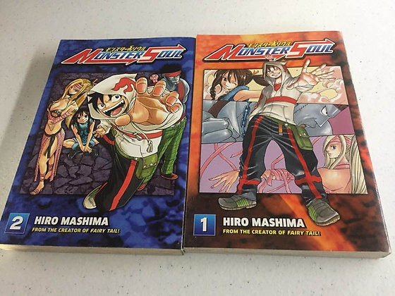 Monster Soul 1,2  Paperback – Manga   by Hiro Mashima  (Author)  In the Monster
