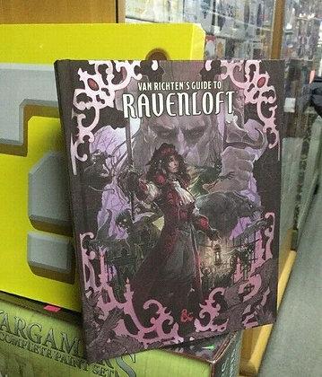 Dungeons & Dragons Van Richten's Guide To Ravenloft Alternative Cover RPG D&D