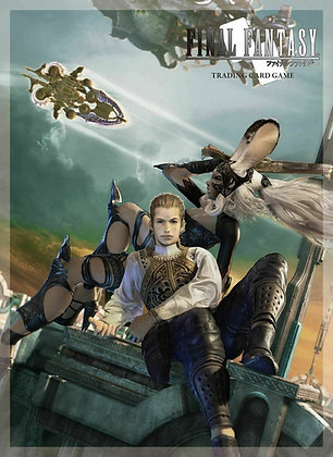 SQUARE ENIX Final Fantasy XII Fran Balthier Card Sleeves (60ct)   (Sleeve size: