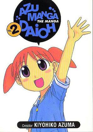 AZUMANGA DAIOH MANGA TP VOL 2,4  (Manga) (2 Books)  A. D. VISION (W/A/CA) Kiyohi