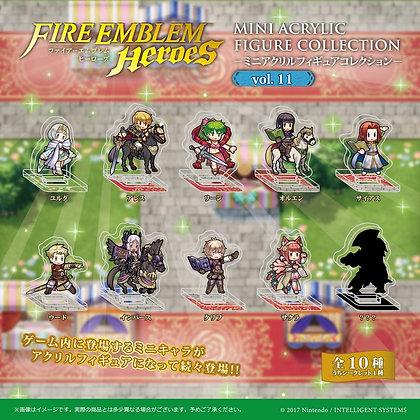 "set of 10 ""Fire Emblem Heroes"" Mini Acrylic Figure Collection Vol. 11"