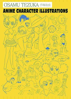 Osamu Tezuka: Anime Character Illustrations Hardcover