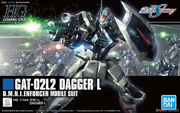 Bandai1/144 Dagger L (HGCE) (Gundam Model Kit)
