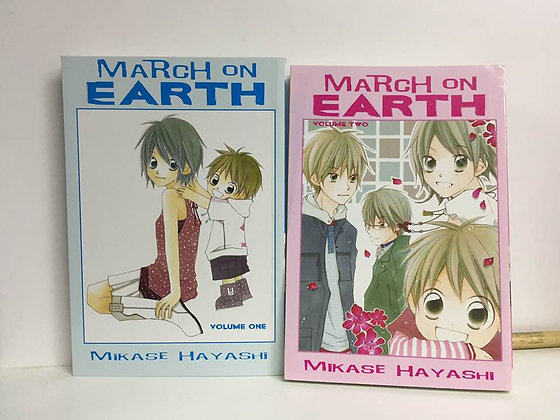 MARCH ON EARTH GN VOL1,2 Manga ( Books) 9781401215958