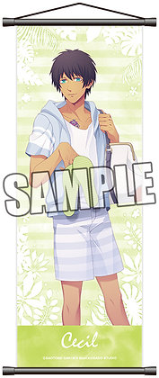 """Uta no Prince-sama"" Slim Tapestry Happy Summer Ver. Aijima Cecil"