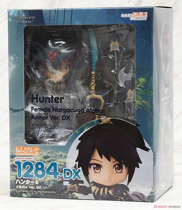 Good Smile Company Nendoroid Hunter: Female Nargacuga Alpha Armor Ver. DX Figure