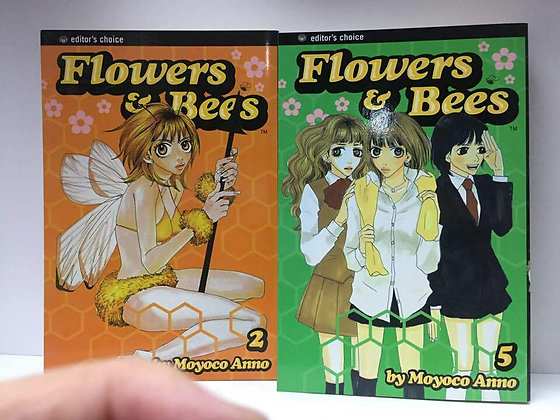 FLOWERS AND BEES TP VOL 2,5 Manga (2 Books
