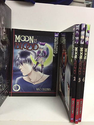 MOON & BLOOD GN VOL 1,2,3,4 Manga ( Books)   DIGITAL MANGA DISTRIBUTION (W/A/CA)
