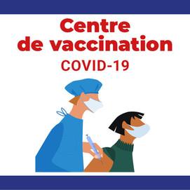 Centre de Vaccination à Carpiquet