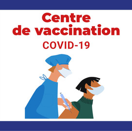 Centre de Vaccination à Carpiquet