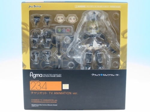 Max Factory Figma #234 Black Rock Shooter Chariot: TV ANIMATION ver.i (PVC Figur