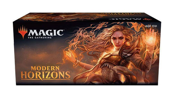 "One Factory Sealed ""Modern Horizons"" Booster Box PreOrder + 1 Flusterstorm Promo"