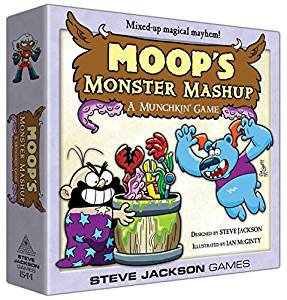 Steve Jackson Games Moop's Monster Mashup A Munchkin Game