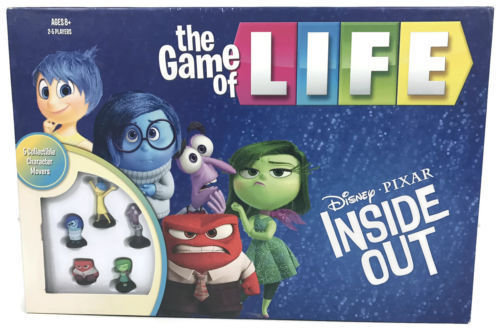 Game Of Life Disney Pixar Inside Out Edition USAopoly The Board Game