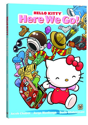 HELLO KITTY GN HERE WE GO  PERFECT SQUARE