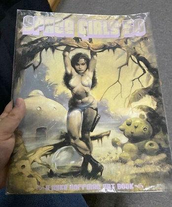 Space Girls 50 - A Mike Hoffman Art Book (2006 Antimatter Hoffman)