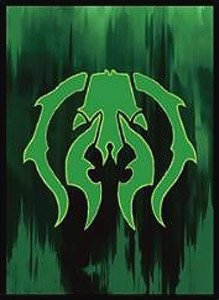 Ensky Magic The Gathering Players Card Sleeve [Guilds of Ravnica] (The Golgari)