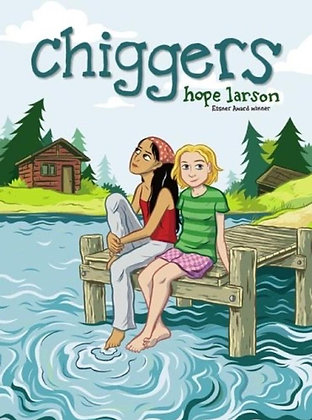 CHIGGERS HARDCOVER  SIMON & SCHUSTER  (W/A/CA) Hope Larson  by Hope Larson It's