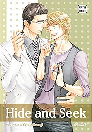 Hide and Seek, Vol. 1 , 2 Yaoi Manga Books