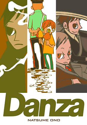 DANZA GN KODANSHA COMICS ENGLISH MANGA