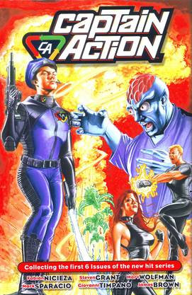 Captain Action Limited Edition HC Hardcover – May 27, 2010 by Fabian Nicieza
