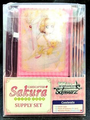 Weiss Schwarz Cardcaptor Sakura Clear Card Supply Set