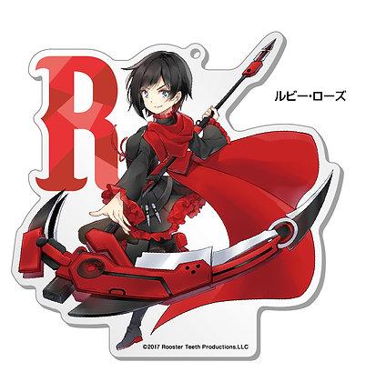 """RWBY"" Big Acrylic Stand 1 Ruby"