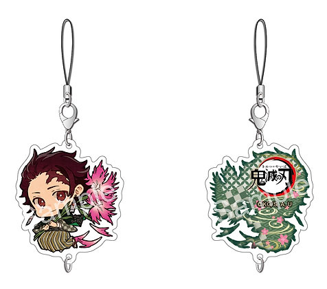 Demon Slayer Chain Collection Kamado Tanjiro Birth Flower Ver