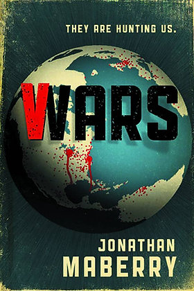 V-WARS PROSE HC IDW PUBLISHING (W) Jonathan Maberry & Various A sweeping threade