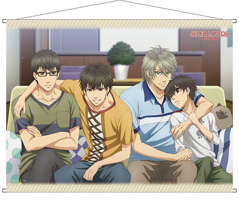 """""""Super Lovers"""" B2 Tapestry B  by TC Entertainment"""