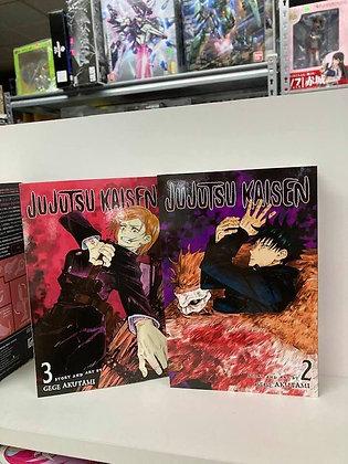 Jujutsu Kaisen, Vol. 3 ( manga) Paperback – December 1, 2020 by Gege Akutam