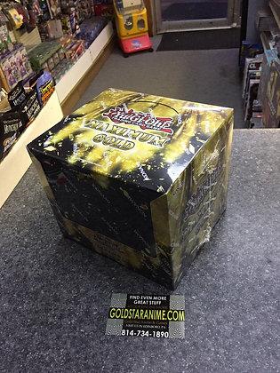 YUGIOH MAXIMUM MAX GOLD DISPLAY BOOSTER BOX COLLECTORS SET