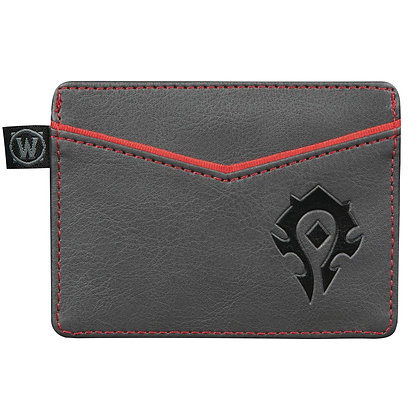 WORLD OF WARCRAFT HORDE TRAVEL WALLET
