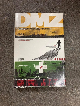 DMZ The Deluxe Edition Book Two (DMZ (Deluxe)) Hardcover – June 17, 2014