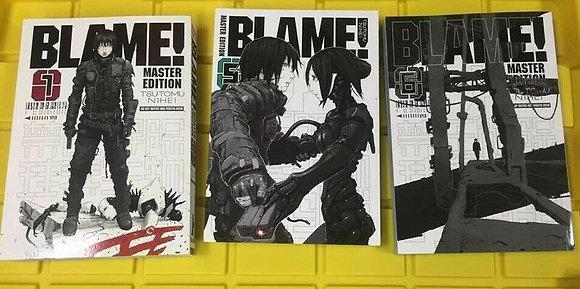 BLAME! GN VOL 1,5,6  VERTICAL COMICS  English Manga Books