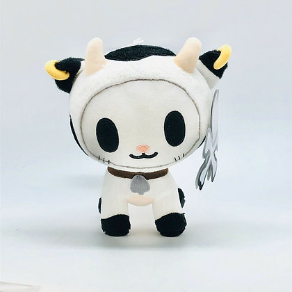 2015 Tokidoki Bocconcino Moofia 8 Inch Plush Cow New With Tags