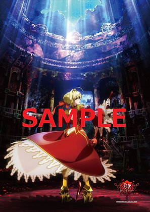 """""""Fate/EXTRA Last Encore"""" B2 Clear Poster A"""