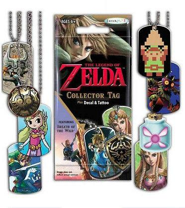 5 random packs of Legend of Zelda Collector Tags