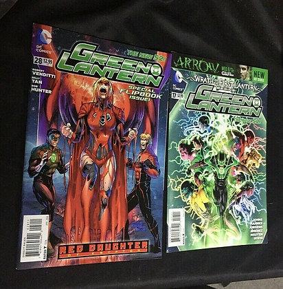 DC Comics Green Lantern #17 & 28