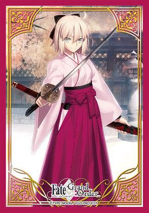 "Broccoli Character Sleeve Mini ""Fate/Grand Order"" Saber / Okita 4510417406105"