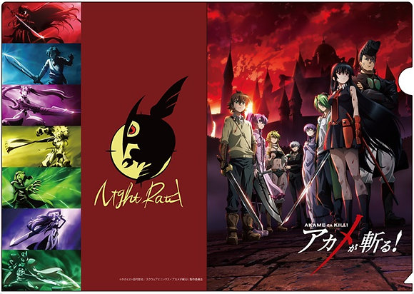 """Akame ga Kill!"" Clear File  byChara-Ani"