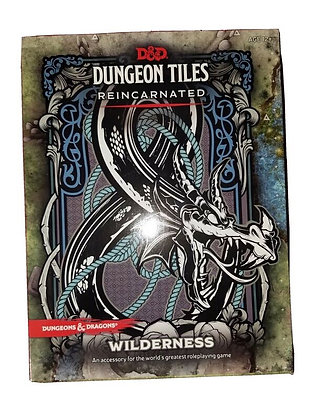 D&D DUNGEON TILES REINCARNATED: WILDERNESS (Dungeons & Dragons) Game – January 2